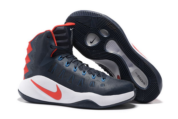 Air Hyperdunk 2016 Shoes Blue/white red
